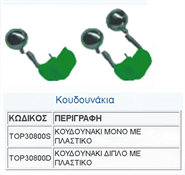 Εικόνα της ΚΟΥΔΟΥΝΑΚΙΑ TOP 30800