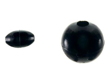 Εικόνα της Χάντρες μαλακές μαύρες Winner