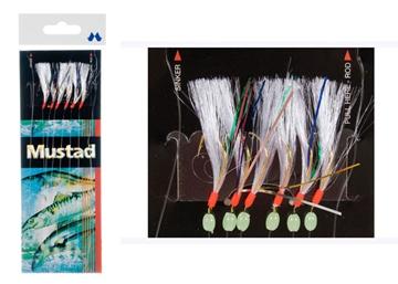 Εικόνα της Τσαπαρί mustad 6 αγκιστρίων Τ-86 No 4