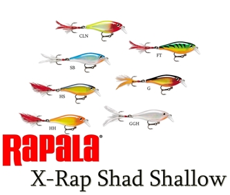 Picture for category X-RAP SHAD SHALLOW