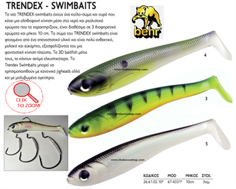 Picture for category TRENDEX SWIMBAITS