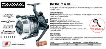 Picture of DAIWA INFINITY X BR