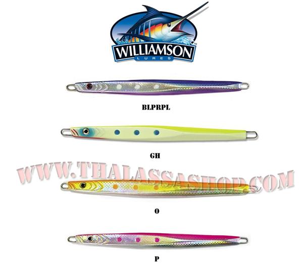 Thalassashop. Williamson Benthos Jig 200gr
