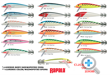 Picture of Καλαμαριέρα Rapala SQ09 (9cm)