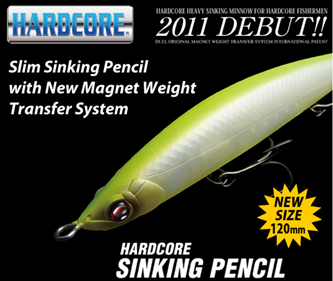 Picture for category HARDCORE SINKING PENCIL