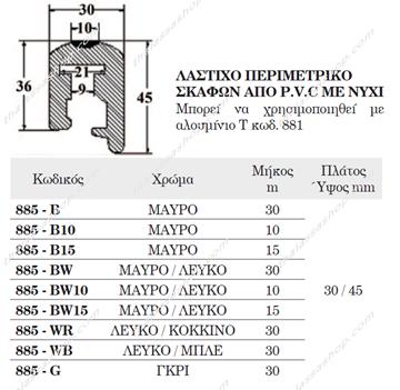 Picture of ΠΕΡΙΜΕΤΡΙΚΟ ΛΑΣΤΙΧΟ ΑΠΟ PVC ΜΕ ΝΥΧΙ 00885