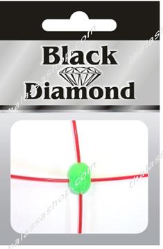 Εικόνα της Χάνδρα Σταυρός Black DIamond Πράσινη 9020
