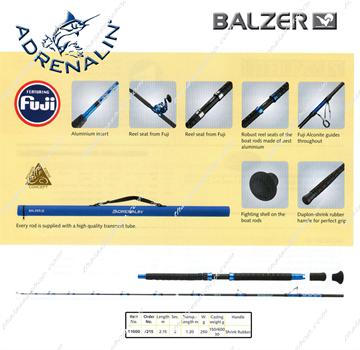 Εικόνα της BALZER ADRENALIN  11000/215 30Lbs Boat