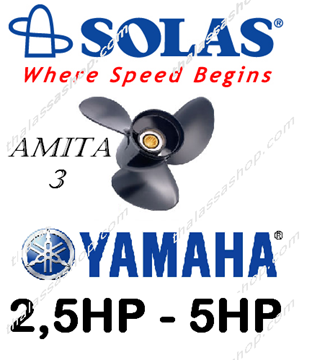 Picture of SOLAS AMITA 3  YAMAHA 2.5-5HP