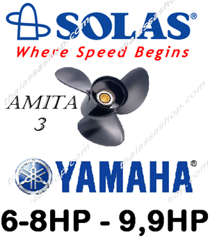 Picture of SOLAS AMITA 3  YAMAHA 6-8HP - 9,9HP
