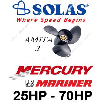 Picture of SOLAS AMITA 3  MERCURY-MARINER 25-70HP