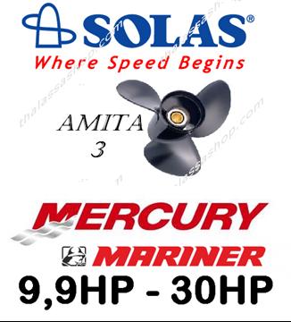 Picture of SOLAS AMITA 3  MERCURY-MARINER 9,9-30HP