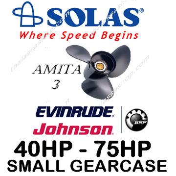 Εικόνα της SOLAS AMITA 3  EVINRUDE-JOHNSON (SMALL GEARCASE) 40-75HP