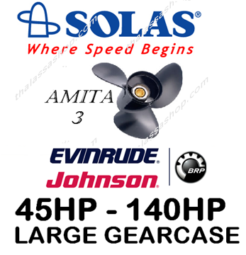 Εικόνα της SOLAS AMITA 3  EVINRUDE-JOHNSON (LARGE GEARCASE) 40-140HP