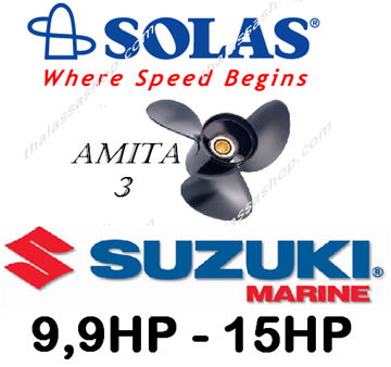 Picture of SOLAS AMITA 3 * SUZUKI  9,9HP - 15HP