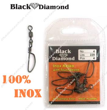 Picture of BLACK DIAMOND ΣΤΡΙΦΤΑΡΟΠΑΡΑΜΑΝΑ INOX KEIKO - TOYRNAMENT