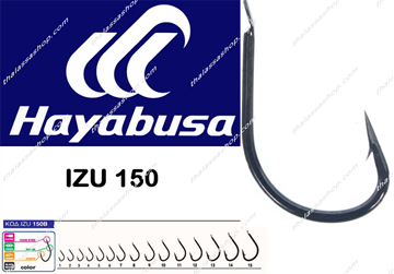 Εικόνα της Hayabusa IZU 150 BLACK NICKEL