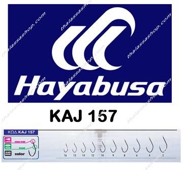 Picture of Hayabusa KAJ 157 BLACK NICKEL