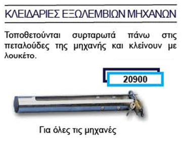 Picture of ΚΛΕΙΔΑΡΙΑ ΓΙΑ ΟΛΕΣ ΤΙΣ ΜΗΧΑΝΕΣ 20900