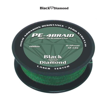 Picture of BLACK DIAMOND PE-4BRAID ΠΡΑΣΙΝΟ ΛΑΔΙ