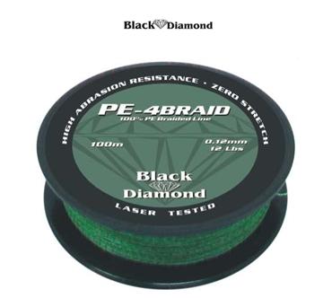 Εικόνα της BLACK DIAMOND PE-4BRAID ΠΡΑΣΙΝΟ ΛΑΔΙ