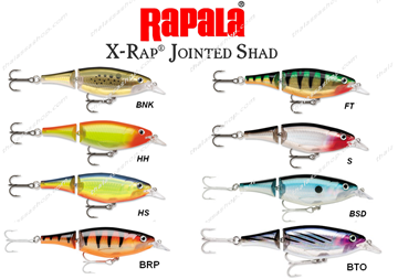 Picture of Ψαράκι RAPALA X-RAP JOINTED SHAD (XJS)