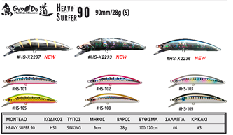 Picture for category HEAVY SURFER 90