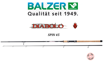 Picture of ΚΑΛΑΜΙ BALZER DIABOLO 8 SPIN 45
