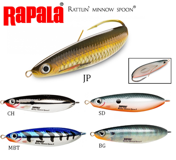 Picture of Κουταλάκι Rapala Rattlin' Minnow Spoon® RMSR