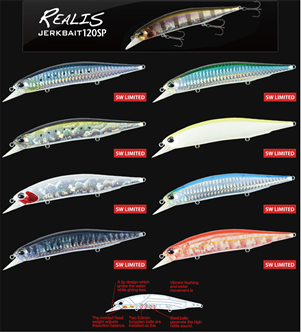 Picture for category REALIS JERK BAIT 120
