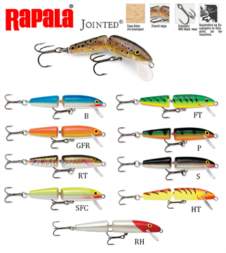 Picture of ΨΑΡΑΚΙ RAPALA JOINTED J09