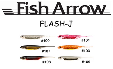 Picture of FISH ARROW FLASH-J 4""