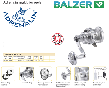 Picture of Balzer Adrenalin AN-10L