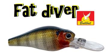 Εικόνα της Ψαράκι Bullbat Fat Diver 6cm (003-02-006-001)