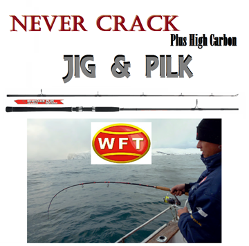 Εικόνα της WFT NEVER CRACK HIGH CARBON JIG & PILK