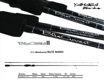 Εικόνα της YAMAGA BLANKS BLUE CURRENT 83TZ/NANO-F