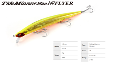 Picture of ΨΑΡΑΚΙ DUO TIDE MINNOW SLIM 140 FLYER