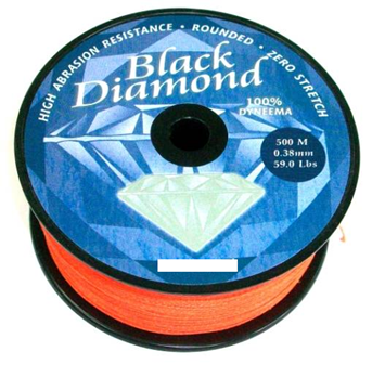 Picture of BLACK DIAMOND 100% DYNEEMA ROUND ΠΟΡΤΟΚΑΛΙ 500m