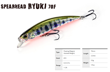 Picture of DUO SPEARHEAD RYUKI 70F