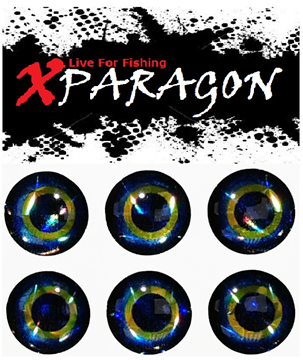 Picture of X-PARAGON LIVE EYES 4D BLUE -YELLOW 9013
