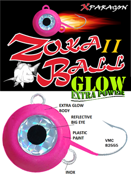 Εικόνα της X-PARAGON ZOKA BALL II GLOW EXTRA POWER 100 gr