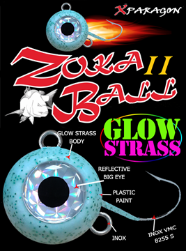 Picture of X-PARAGON Zoka Ball II Glow Strass 130gr
