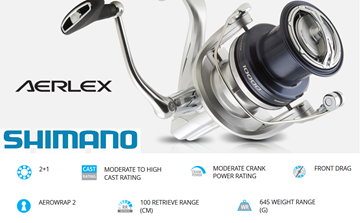 Picture of SHIMANO AERLEX 10000 XSB