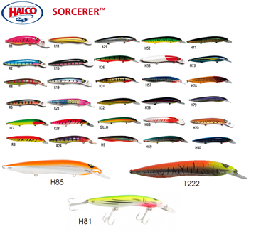 Picture of ΨΑΡΑΚΙ HALCO SORCERER 15cm-30gr