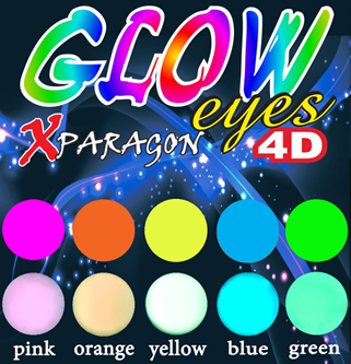 Picture for category X-PARAGON EYES FLUO-GLOW