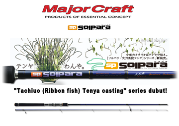 Picture of MAJOR CRAFT SOLPARA TACHI-CASTING TENYA SERIES