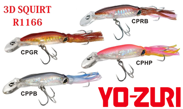 Picture of YOZURI 3D SQUIRT R1166 190mm/42gr