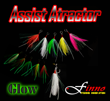 Picture of FINNO HOOK & ASSIST ATRACTOR