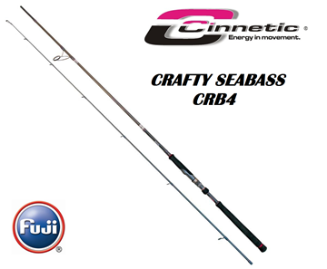 Picture of Καλάμι Cinnetic Crafty Sea Bass CRB4  Light Game