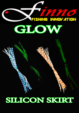 Picture of FINNO RUBBER SILICONE SKIRTS GLOW